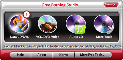 Activate Data CD/DVD Burner