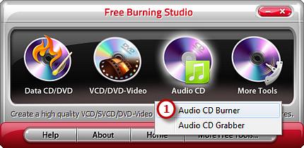 Activate Audio CD Burner