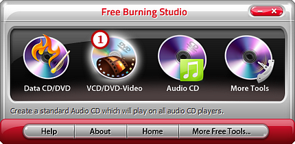 Activate VCD/DVD Video Burner
