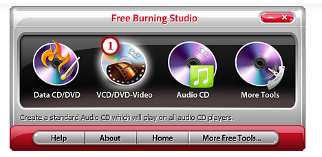 Activate DVD VCD Video Burner