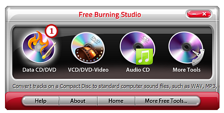 Download, Install and Launch Video Burner