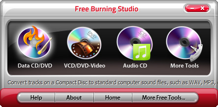 Click to view Free Burning Studio screenshots